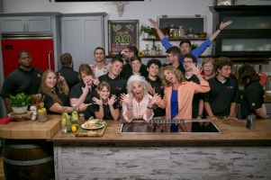 Paula Deen visited the set of Cooking 80/20 with Robin Shea at WKU PBS.