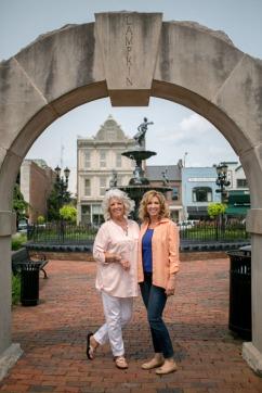 Paula Deen and Robin Shea