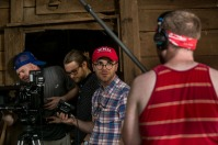 "Several WKU faculty, students and alumni worked on a short film ""Woodshed"" in July."