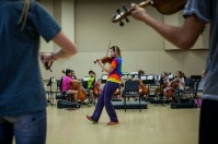 String Explosion camp was held July 20-25.