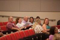 Master of Social Work program conducted an orientation session on Aug. 14.