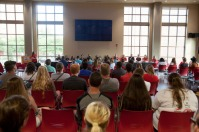 The Welcome Program for New Commuter Students was held Aug. 16.