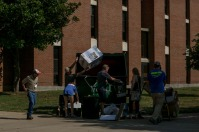 Members of the Class of 2019 moved in on Aug. 16.