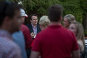 New faculty picnic was held Aug. 18 at the President's Home.