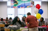 South Africa night was held Aug. 19. This is the International Year of South Africa.