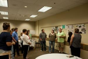 Staff Leadership Institute participants met Aug. 19.
