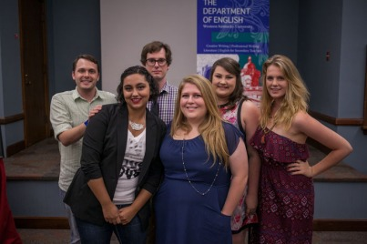 The WKU English Department celebrated its new Master of Fine Arts degree in Creative Writing with a special ceremony on Aug. 27.