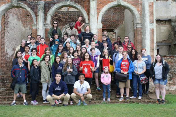 Forty-three Gatton Academy students traveled to England for a study abroad program this summer.