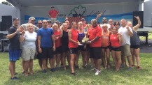 On Aug. 22, the CI at WKU team was named Grand Champion of the fifth annual Owensboro Dragon Boat Festival.