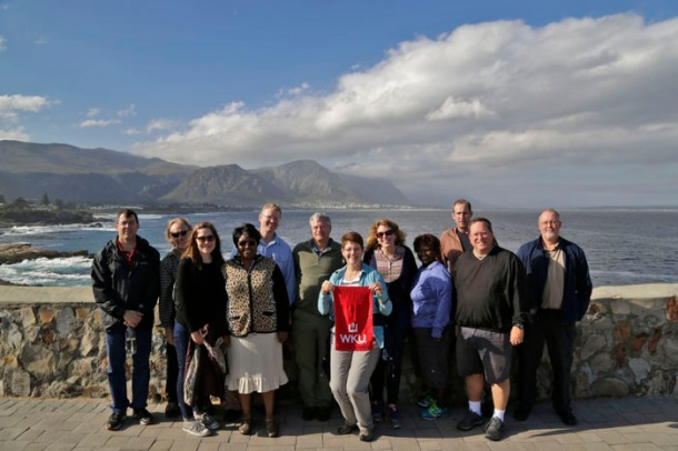 ZSEIFS participants in Hermanus, South Africa. (Photo by Tyler Essary)