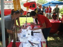 On Aug. 15, the Confucius Institute at WKU was part of the 2015 Multicultural Festival at the First Presbyterian Church in Owensboro.