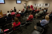 WKU Glasgow's Military Student Services Center dedication on Sept. 2.