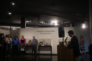 The Kentucky Museum hosted an exhibit opening Sept. 9 to kick off the International Year of South Africa.
