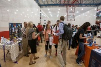 2015 Majors and Minors & Study Abroad Fair was held Sept. 16 at Preston Health and Activities Center.