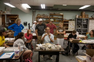 Scenes from WKU Biology Professor Keith Philips' lab.