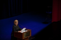 Award-winning journalist Nina Totenberg presented a lecture as part of the Cultural Enhancement Series on Sept. 21.