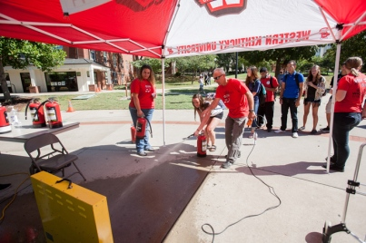 Campus Fire Safety Day was held Sept. 22.
