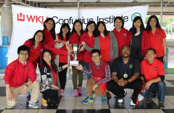 The Confucius Institute at WKU team was Division Champions at the 2nd Annual Louisville Dragon Boat Festival on Sept. 12.