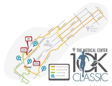The 36th annual Medical Center 10K Classic will be held Oct. 17.
