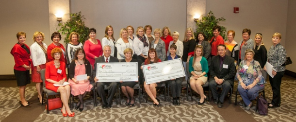 The WKU Sisterhood met Sept. 25 and awarded grants to three projects. (WKU photo by Clinton Lewis)