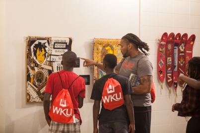 The Students With A Goal camp visited the Kentucky Museum on Oct. 8.