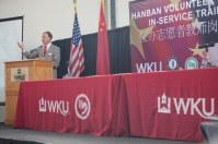 The Confucius Institute at WKU hosted the Hanban Volunteer Teacher In-Service Training Oct. 9-11.