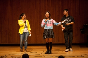 The Chinese Major and Minor Program held a singing contest on Oct. 21.