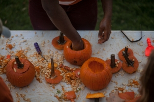 Potter College of Arts & Letters held its fall festival on Oct. 21.