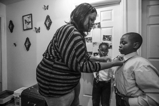 Nikki McHenry works with special education students at Berea Community High School She is also a single mother of two boys and is conquering a chronic illness on top of that. ©2014Alyssa Pointer