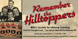 The Hilltoppers promo