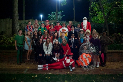 The Spirit Masters held their annual Halloween Party on Oct. 28 at the President's Home.