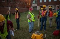 WKU surveying class