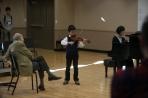 The Pre-College Strings Program hosted Violin Fest on Nov. 14.