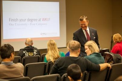 WKU hosted an Adult Learner information session on Nov. 16.