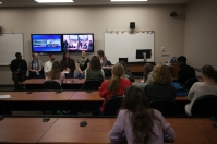 """International Education Week 2015 included a presentation on """"I Wish Someone Had Told Me"""" on Nov. 16."""