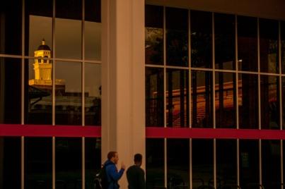 Campus sunset on Nov. 18.