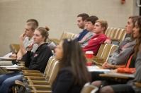 International Education Week 2015 included a presentation by WKU Agriculture Economist Dominique Gumirakiza on Nov. 19.