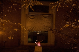 """Residual Unseen,"" a collaborative performance project, was held Nov. 20 at the Kentucky Museum."
