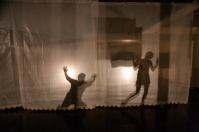 """""""Residual Unseen,"""" a collaborative performance project, was held Nov. 20 at the Kentucky Museum."""