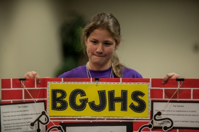 The FIRST LEGO League regional qualifying tournament was held Nov. 21.