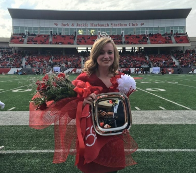 Karen Powell was crowned 2015 Homecoming queen on Nov. 7.