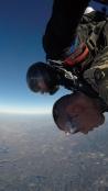 WKU ROTC cadet Shawn Sattazahn completed a tandem jump on Nov. 13.