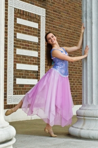 WKU sophomore Hannah McCarthy as Sleeping Beauty. (Photo by Shura Pollatsek)
