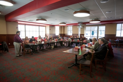 Leaders of WKU Regional Campuses met on Dec. 4.