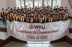 December 2015 graduates of the School of Nursing
