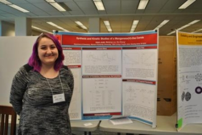 WKU student Haleh Jeddi received first place in Undergraduate Research Poster, Chemistry: Organic/Inorganic at the 2015 Kentucky Academy of Science Annual Meeting.