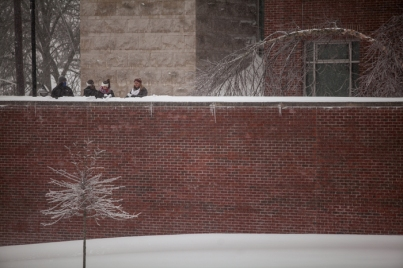 Campus scenes Jan. 22, 2016