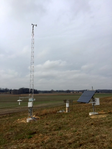 The Kentucky Mesonet's newest station in Butler County became operational on Jan. 11.