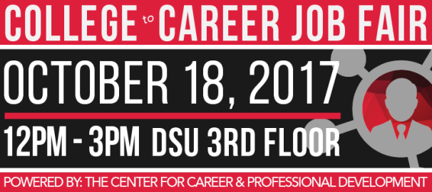 College to Career Job Fair will be held Oct. 18.