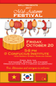Mid-Autumn Festival will be held Oct. 20.